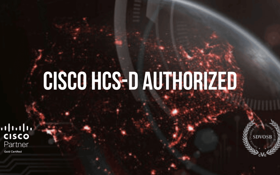 Colossal: Cisco HCS-D Authorized